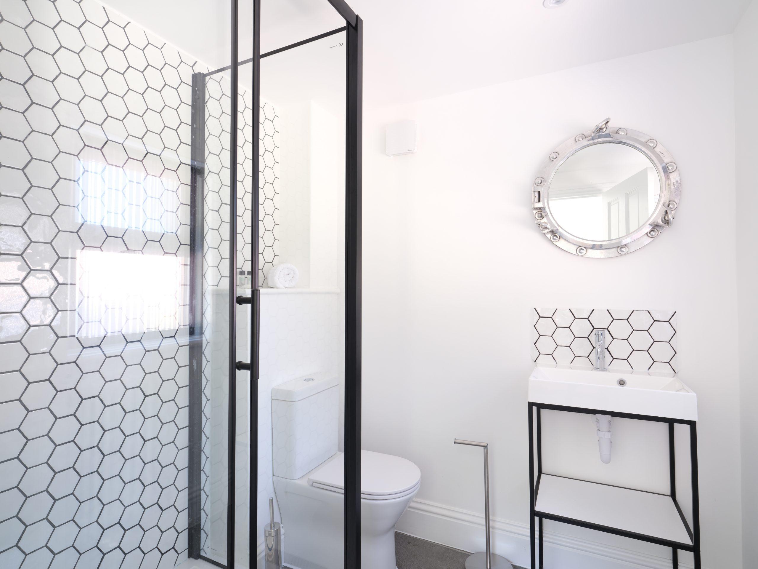 Drym House: Ground Floor Shower Room