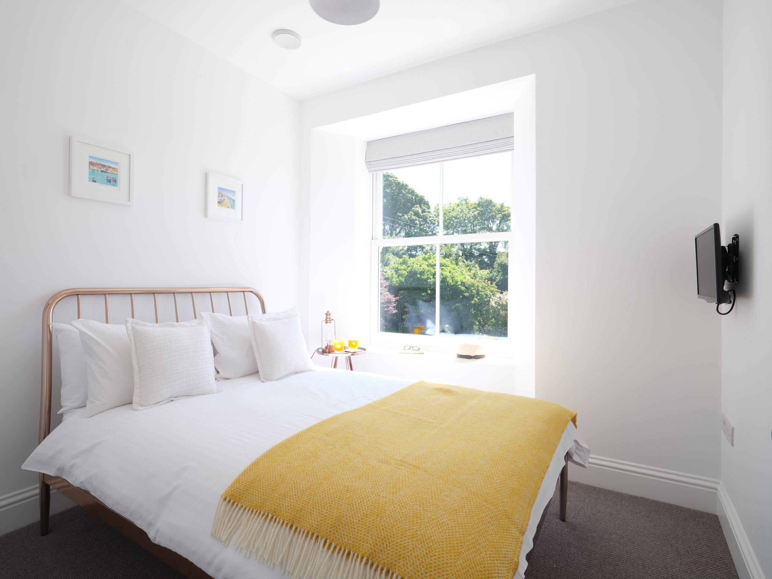 Drym House: Double Bedroom