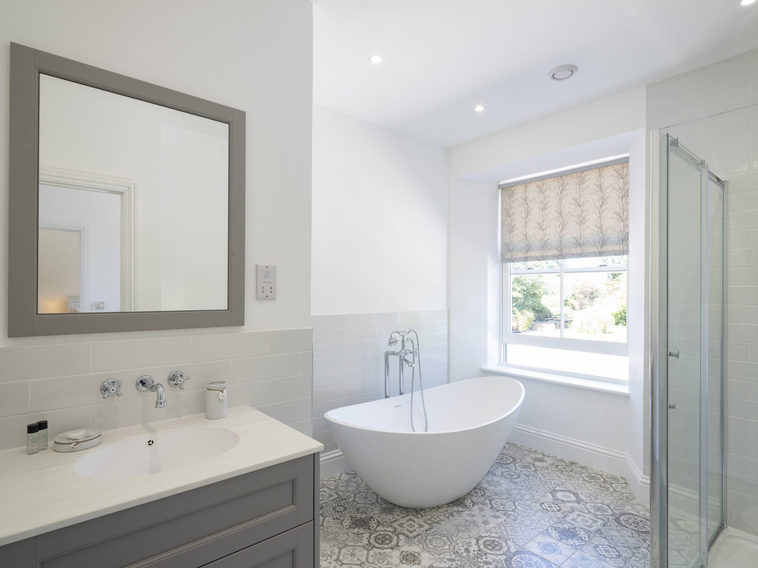 Drym House: Family Bathroom