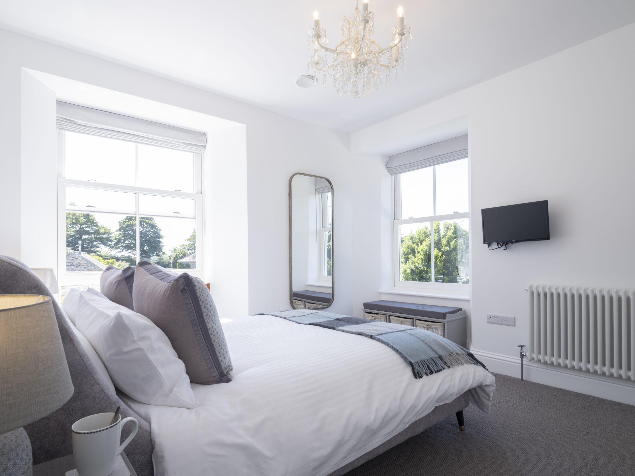 Drym House: Master Bedroom